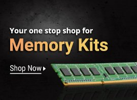 Save up to 70% on memory kits
